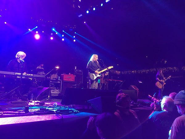 Warren Haynes and the Last Waltz Band at Christmas Jam 2016