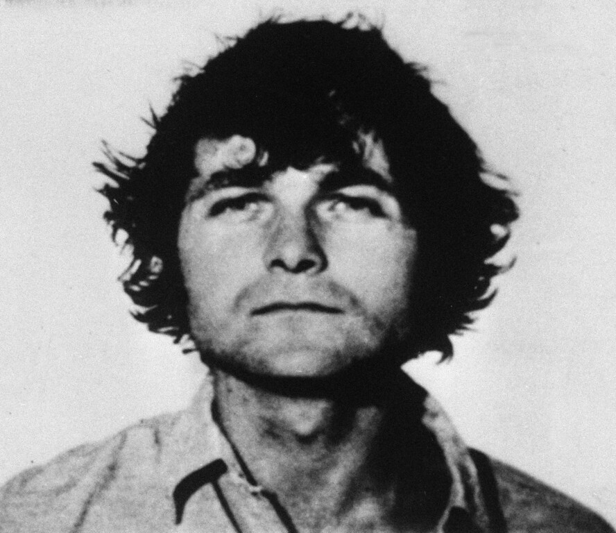 . This is photo of Bruce Davis, 27, wanted for failure to appear on a charge of purchasing firearms under a false name. Davis along with Susan Atkins and Charles Manson is under indictment in the killing of Malibu Musician Gary Hinman. April 27, 1970 file photo. (AP Photo)