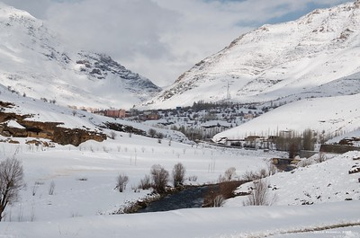 Bahçesaray in winter