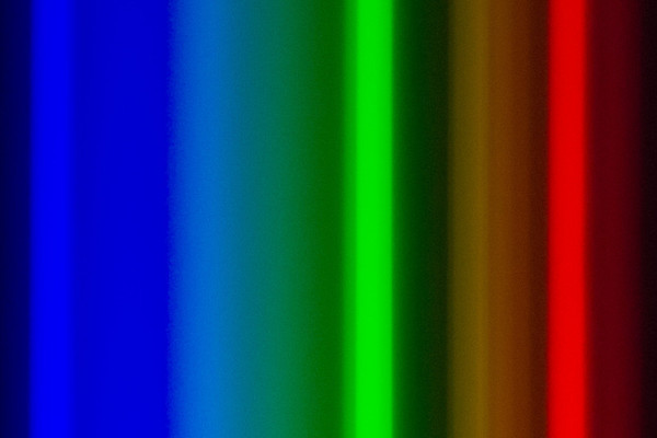 Spectral analysis of different light sources