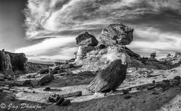 Northern Arizona and Monument Valley Monochrome
