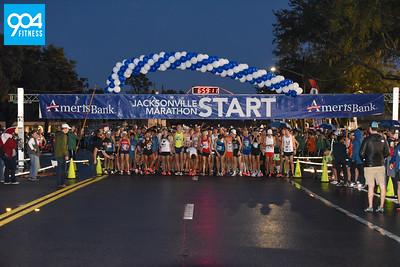Ameris Bank Jacksonville Marathon Start 2018