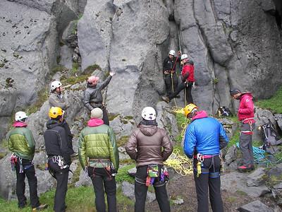 Mountain skills course