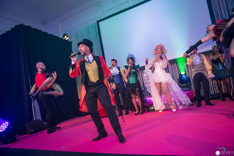 Nicolas Tenerani bei der Eröffnungsshow des Diversity Ball 2019