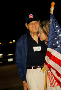 Honor Flight 5 part 1 Conroe Sendoff