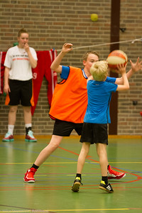 25-04-2015 BAS basketball 35 jaar | jeugd