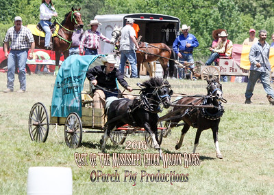 2016 East of The Mississippi Chuckwagon Races,  Saturday Land Rsush