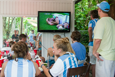 2014 World Cup Finals at the Nut House