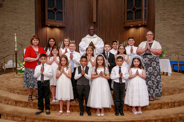 2019 - HFCC First Communion