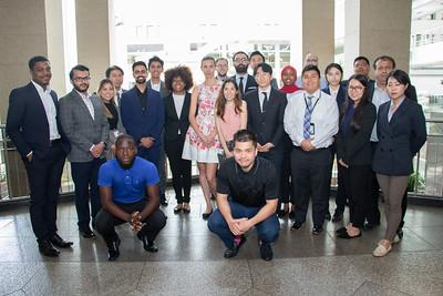CAPSTONE STUDENTS_Georgia State University interns at Fulton County