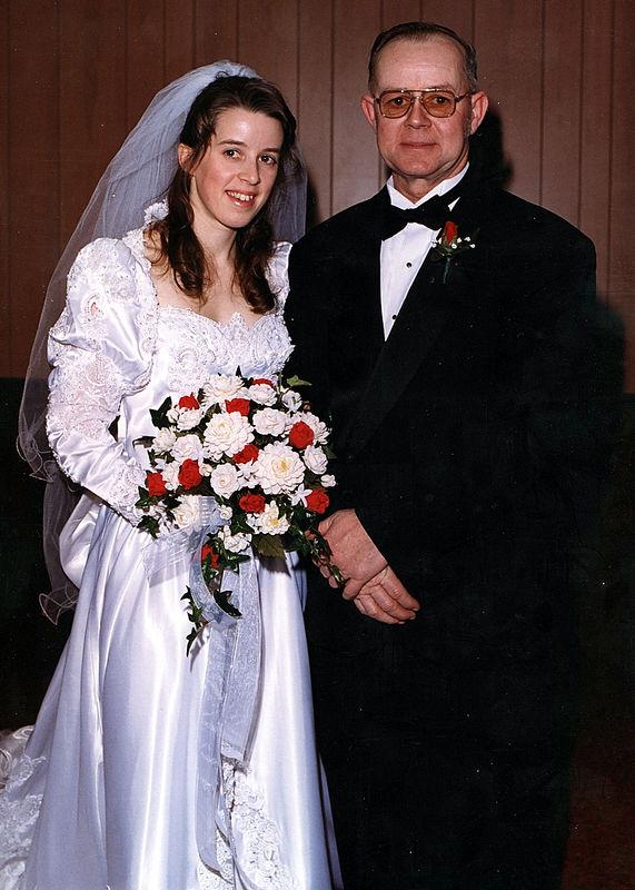 David & Ellen's Wedding Photos - January 9, 1999