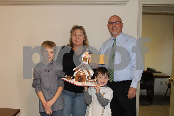 Inaugural Gingerbread House Contest - December 2014