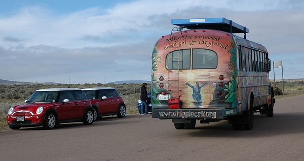 """The magic bus is on the Internet: www.hippiecrit.org, where you can read """"Why the Movement Never Got Off the Ground."""""""