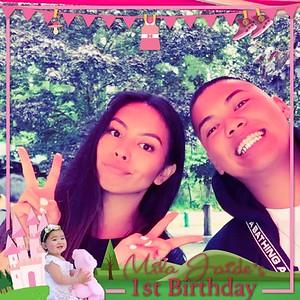 Mila Jaide's 1st Birthday