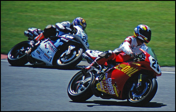 Older WSB and Motorcycle Grand Prix Action