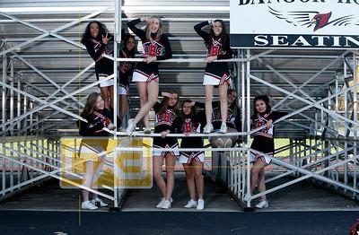 Bangor football cheerleading FBC18