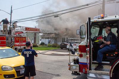 North Bellmore F.D. House Fire 1594 Little Neck Avenue 07-06-2021