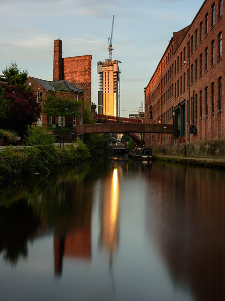 Rochdale Canal in Manchester