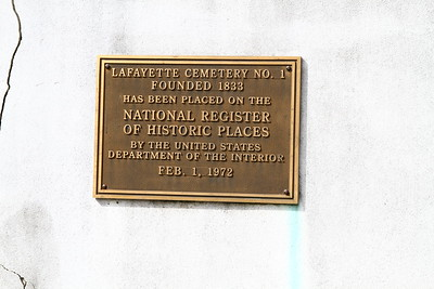Nola Cemeteries - Lafayette 1