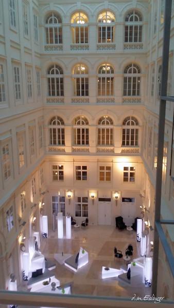 Lobby of Brno Barcelo Palace