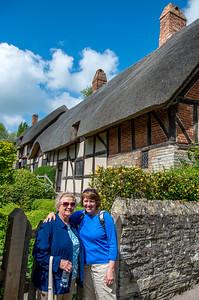 Anne Hathaway's Cottage at Stratford-upon-Avon