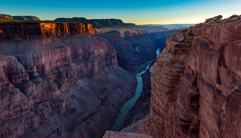 Evening - The Western View - Toroweap Ouylook - Grand Canyon National Park