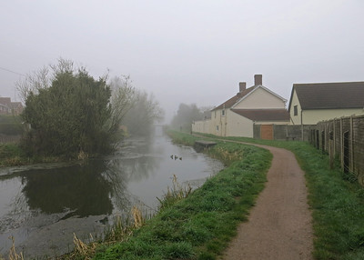 Post flood ride to Moorland and Muchelney 01/04/14