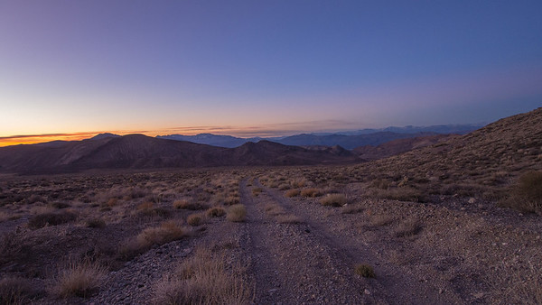 Last Chance Mountain - Death Valley 1.18.14