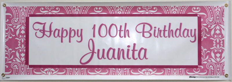 Juanita's 100th Birthday Celebration