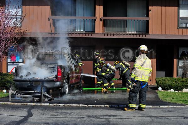 WHARTON NJ 529 HILLSIDE TERR. CAR FIRE 3/27/12