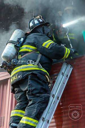 Live Burn Training - Worcester Fire HQ, Worcester, MA - 10/17/20