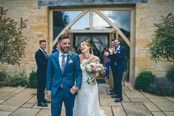 Rebecca & Luke - Upcote Barn Wedding Photography