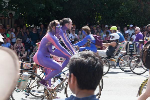 Fremont Bike Parade (NSFW)