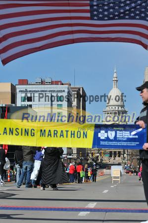 Marathon Men's Winner - 2013 Lansing Marathon