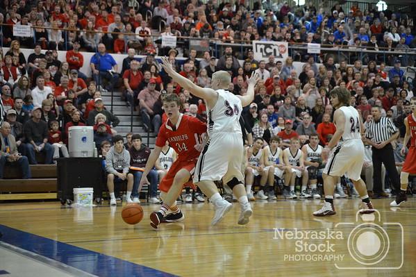 BKB Boys State Basketball: Randolph vs BDS