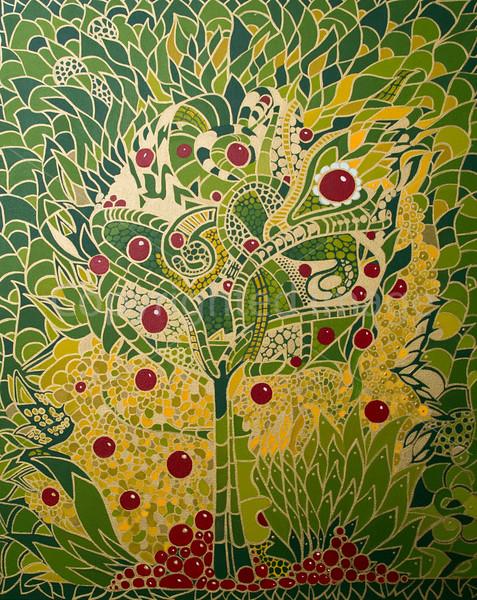 Garden of Eden (Acrylic on Canvas)