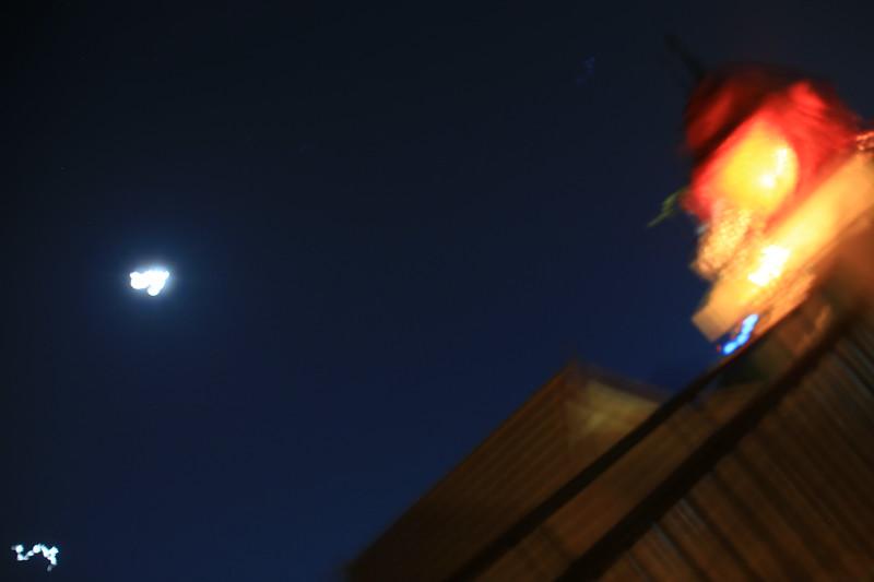 Moon & Venus on pre-sunrise