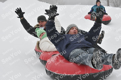 Snow Tubing 2-22-13 3-5 session