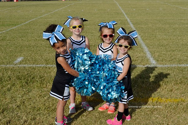 Panther Football Cheerleaders