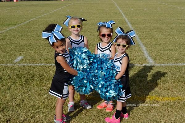 Panther Football Cheerleaders
