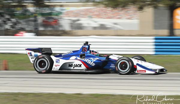 2018 IndyCar Test at Sebring