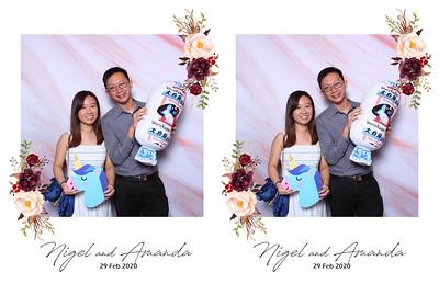 Nigel Lin & Amanda 29 Feb 2020 Photobooth Album