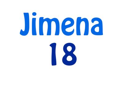 Jimena 18