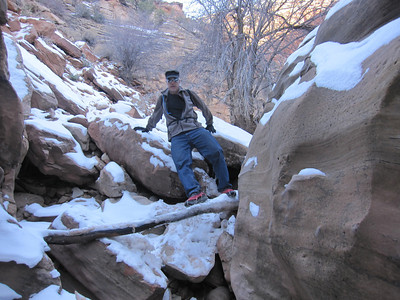 Clear Creek, Zion N.P. UT - 1/7/2013