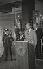 Police News Conference with Mayor Hudnut, Circa 1978, Img. 1