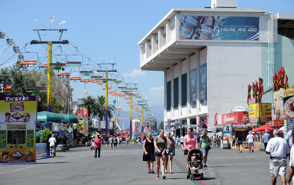 . The 91st Annual L.A. County Fair in Pomona, Calif. on Thursday, Sept. 5, 2013.   (Photo by Keith Birmingham/Pasadena Star-News)