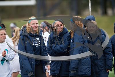Women's Lacrosse vs. New Haven Teal the Field (04/22/17) Courtesy Jim Stankiewicz