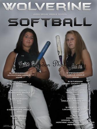 UGMS softball T&I 8-21-10