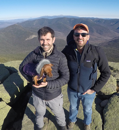 11/19/16 - Mt Lafayette and Mt. Lincoln loop