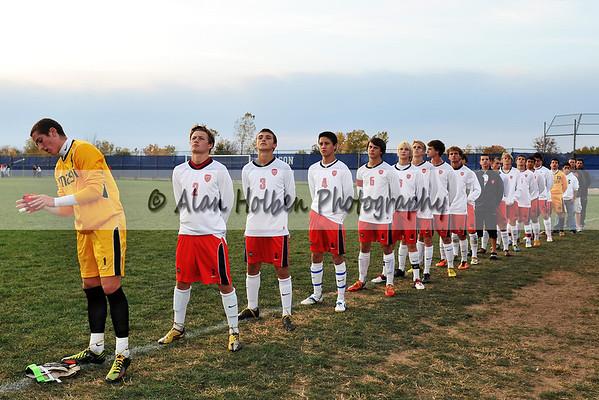 Boys Varsity Soccer - East Lansing at Mason - CAAC Cup
